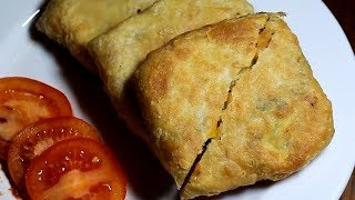 জলখাবারে পরিবেশন করুন Egyptian পরোটা ||Chicken Egg Paratha||Mughlai Paratha Recipe