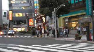 Poorly filmed car-ride through Tokyo