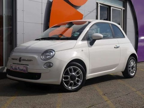2010 Fiat 500 Sport 1.3Multijet Diesel White For Sale In Hampshire