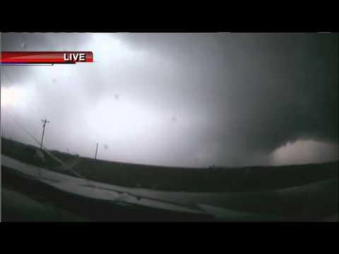 KHQA Storm Runner: Hancock County Tornado Warning Live Report