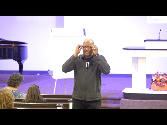 2018-11-06 - JUST SAY YES - Spiritual Renewal Week - Dr. Robert Loggins - Day 3