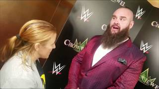 Quick chat with WWE Superstar Braun Strowman and lineal champion Tyson Fury