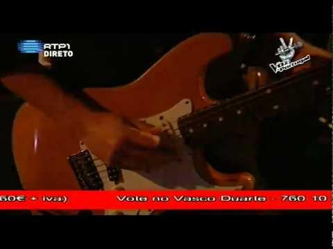3ª  Gala A Voz de Portugal -- Vasco Duarte --