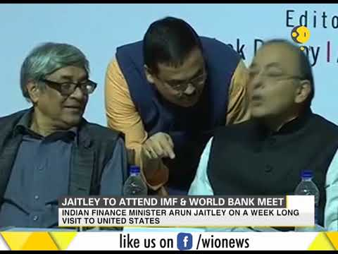 Jaitley to attend IMF and World Bank meet