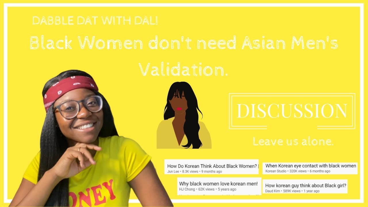 do asian men like black women