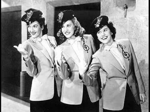 The Andrews Sisters - Oh Johnny! Oh Johnny! Oh!