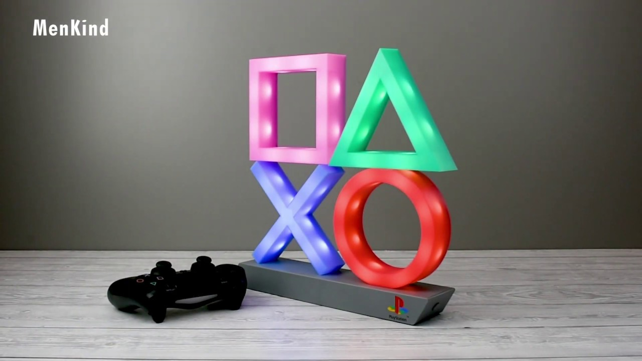 Playstation Icons Light XL - Menkind UK Exclusive - YouTube
