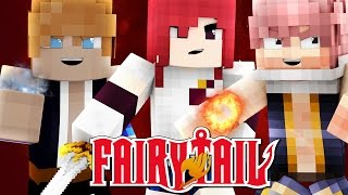 Pokemon x Fairy Tail - EP 1 - The Fairy's Tail (Minecraft Roleplay)
