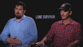 Marcus Luttrell & Peter Berg - Lone Survivor Interview HD