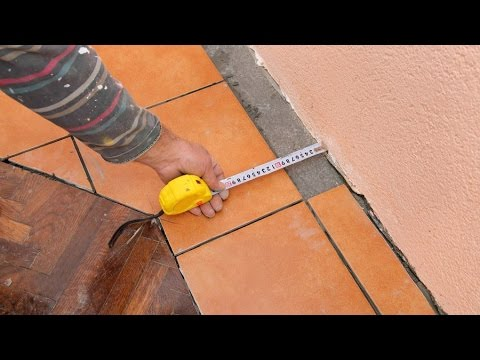 How To Measure For Tiles Youtube