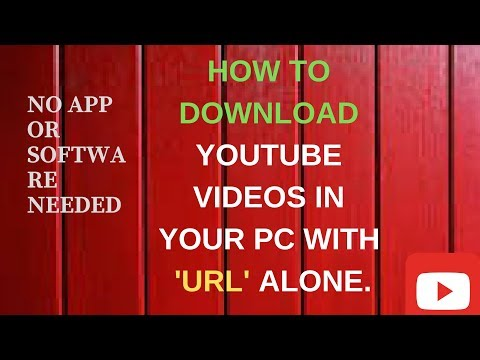 HOW TO DOWNLOAD FROM YouTube With URL Alone [best Way]