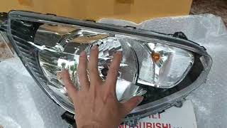 Đèn pha xe mitsubishi Mirage