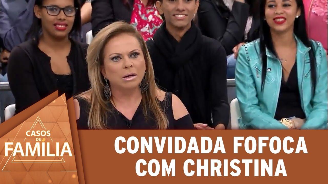 Convidada fofoca com Christina | Casos de Família (09/07/20)