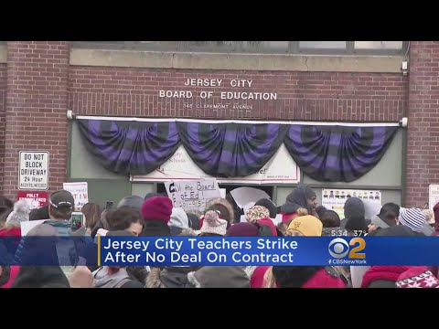Jersey City Public School Teachers On Strike