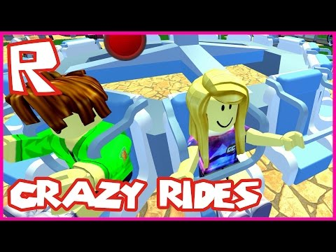 Theme Park Tycoon / Crazy Rides / Roblox