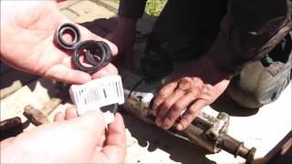 Рулевое управление  Ремонт рулевого редуктора ч 1