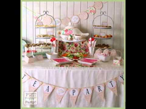 DIY Tea party decor ideasYouTube