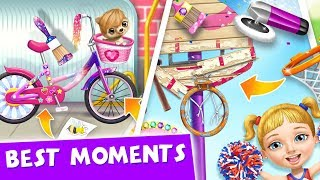 BE CREATIVE ????️???? Best School Decoration Moments in Sweet Baby Girl Cleanup 6 Game for Kids