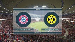 PES 2019 Bayern Munich v Borussia Dortmund Full Match