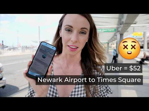 How to get from NYC airports to city center without getting