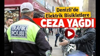 Tescilsiz elektrikli bisikletlere el konuldu - Denizli Haberleri - HABERDENİZLİ.COM
