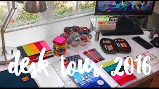 Desk Tour | How I Organize My Desk