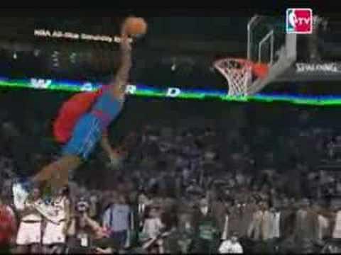 Dwight Howard Superman Slam Dunk Contest 2008 YouTube