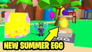 🌊 ROBLOX Bubble Gum Simulator Grinding the New Summer Egg | LIVE With Fans| 🌊