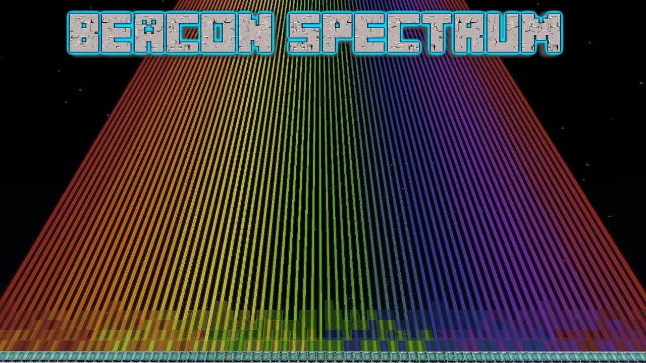 78 Colour Spectrum/Rainbow using Beacons - Extended Spectrum (colour/black  and white)