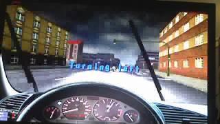 Playing 3D Driving School 5