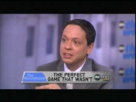 George Will on Armando Galarraga and his Perfect-ish Game