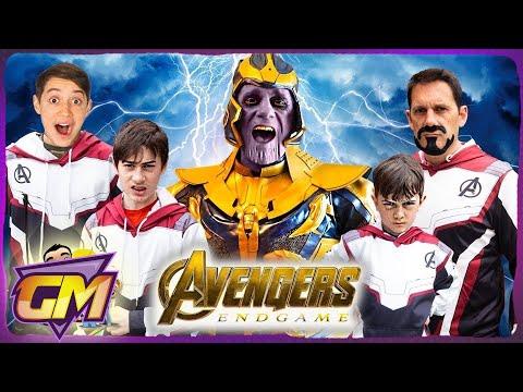 Avengers Endgame Trailer - Shot By Shot Kids Parody