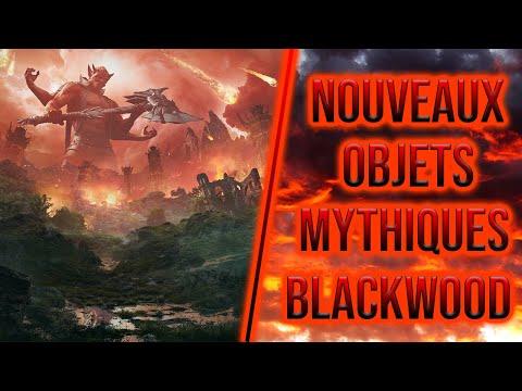 Nouveaux objets mythique Blackwood - ESO |