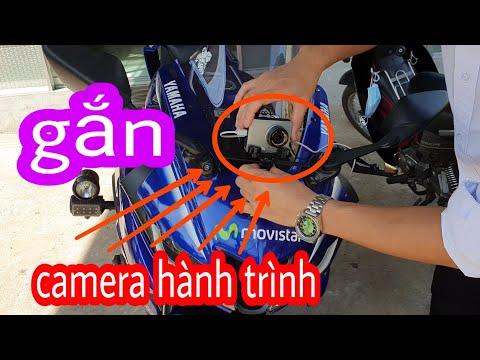 Gắn Camera Hành Trình Cho Xe Máy