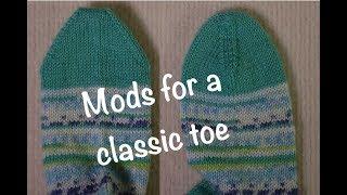 CLIP Double Moss Toe Up Sock Body
