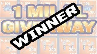 1 Million Pl Giveaway Winner | Fortnite Save The World