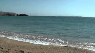 Пляж VAI на о.Крит(, 2013-08-14T03:46:30.000Z)