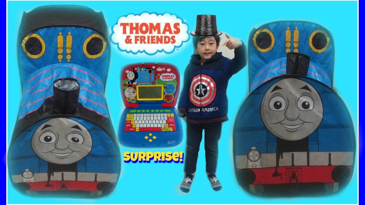 GIANT THOMAS AND FRIENDS TENT WITH SURPRISE TOY INSIDE! Jun Toys  sc 1 st  YouTube & GIANT THOMAS AND FRIENDS TENT WITH SURPRISE TOY INSIDE! Jun Toys ...