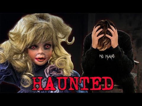 OUIJA BOARD WITH HAUNTED DOLL (SCARY)