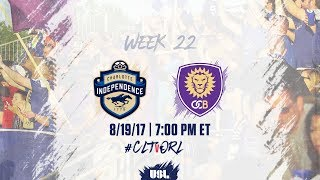 Charlotte Independence vs Orlando City II full match