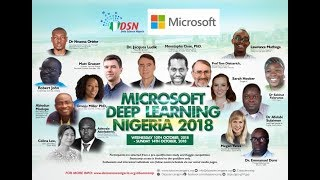 Artificial Intelligence  Summit and Bootcamp by Data Science Nigeria 201