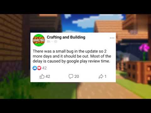 crafting and building 1.17 update||latest news|coming soon||