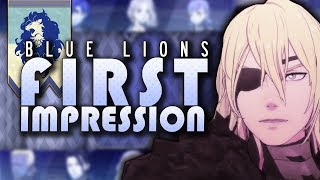 Should You Pick Blue Lions? Most and Least Favorite Blue Lions Students. Fire Emblem: Three Houses