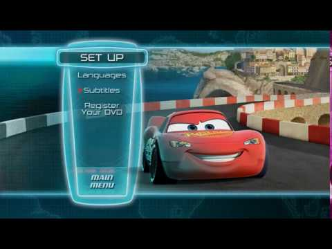 Cars 2 Dvd Menu Walkthrough Youtube