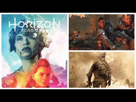 ИГРОНОВОСТИ Horizon Zero Dawn 2,  Gears Tactics, PS 5, Ведьмак 3 с трассировкой, Modern Warfare 2