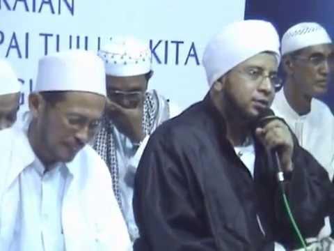 Maulid Nabi Bersama Habib Munzir al Musawa di Makam Habibi Cikini (Habib Abdurraman al Habsyi)