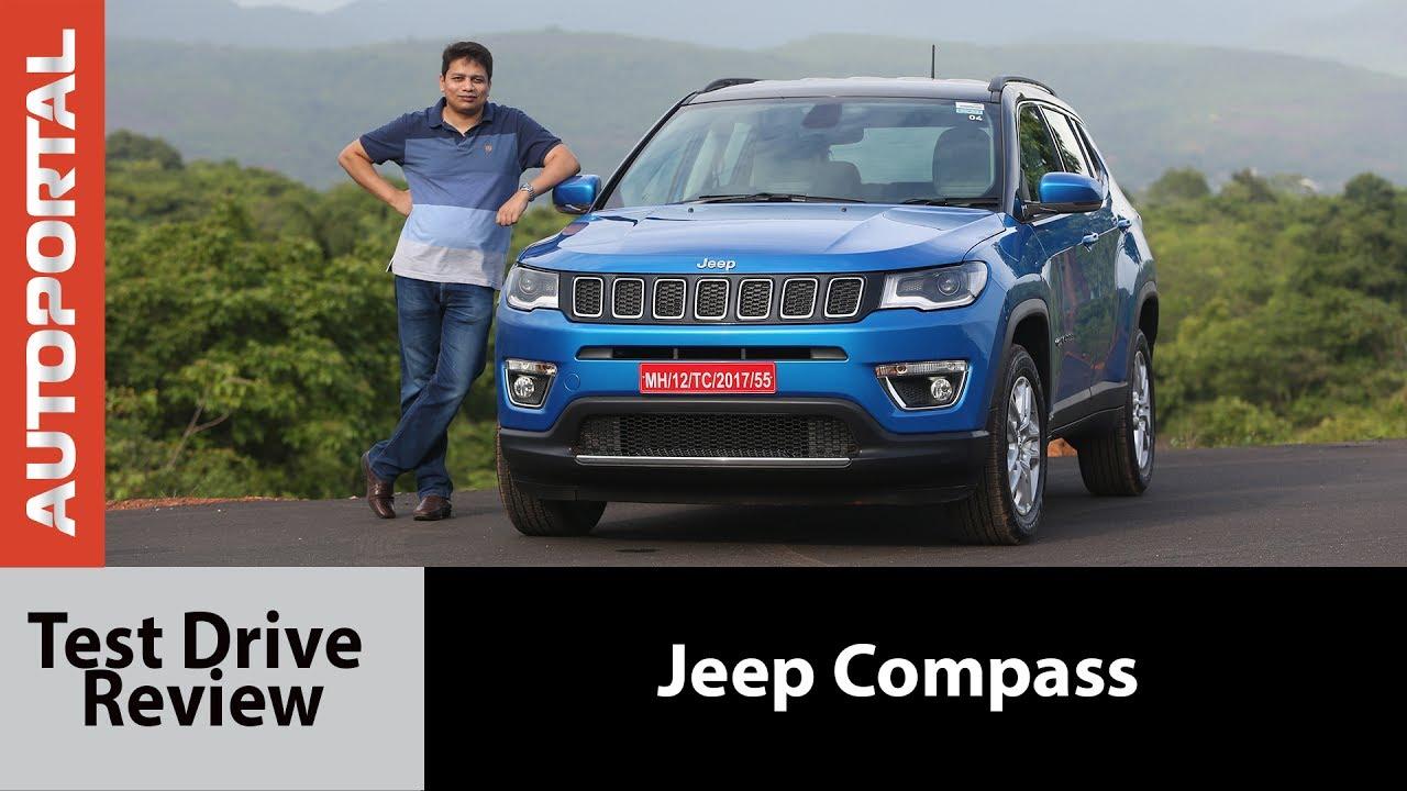 Jeep Compass Test Drive Review Autoportal Youtube