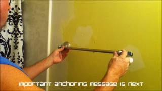 How To Install An 18 Inch Towel Bar