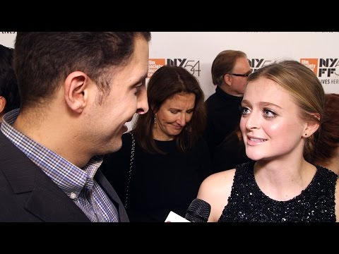 "Anna Baryshnikov at the ""Manchester by the Sea"" NYFF Premiere Behind The Velvet Rope"