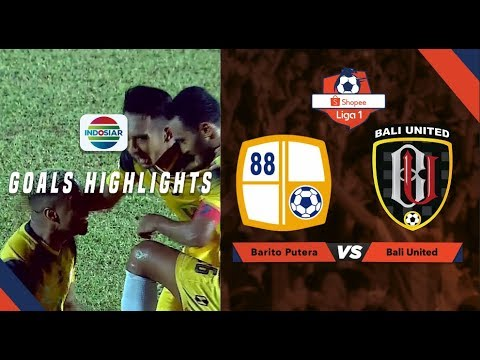 Barito Putera (1) vs Bali United (0) - Goal Highlights | Shopee Liga 1.